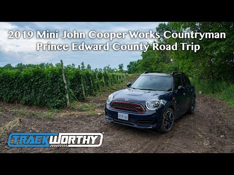 2019 Mini John Cooper Works Countryman Prince Edward County Road Trip