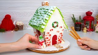 We Are Building A Gingerbread House! Awesome Christmas Treat For You And Your Friends