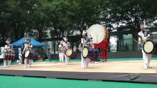 和太鼓破魔-映画・雷桜劇中曲「乱」WADAIKOHAMA-RAN2011/07/18_2.mpg