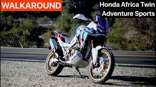 Honda Africa Twin Adventure Sports DCT WALKAROUND