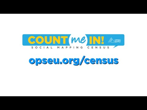 OPSEU members, count yourself in!