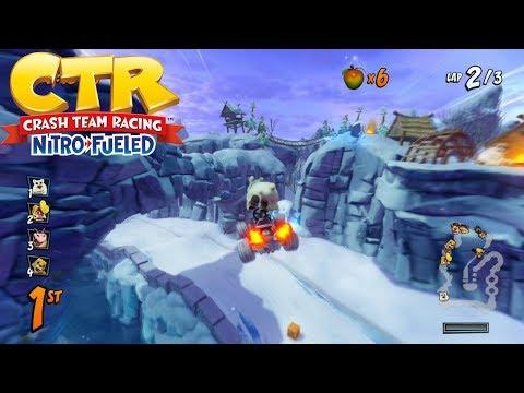 Crash Team Racing Nitro Fueled – Polar Pass FULL RACE GAMEPLAY!
