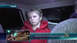 Очень пьяная блондинка пыталась отвезти нетрезвого супруга домой