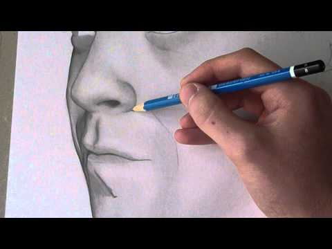 how to draw hyper realistic skin
