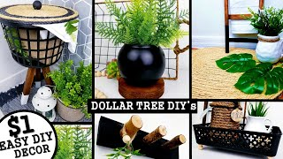 5 NEW DIYs HOME DECOR | DOLLAR TREE DIYs 2020 | Anthropologie & West Elm Inspired