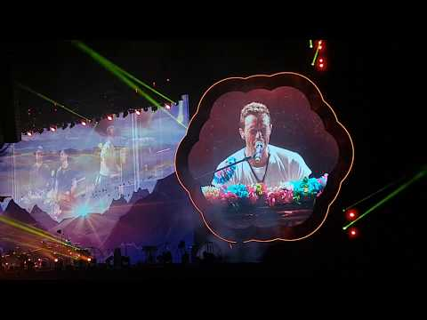Coldplay - Hymn For The Weekend @ Allianz Parque 08.11.2017