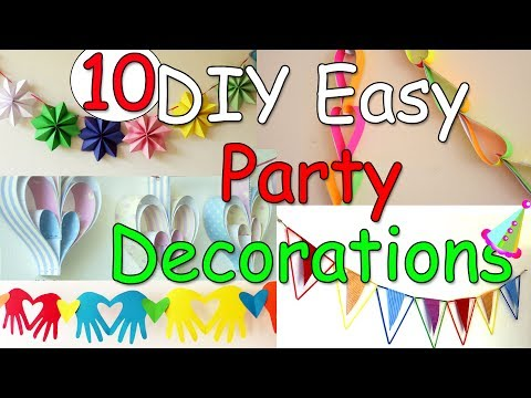 10 DIY Easy Party Decorations Ideas – Ana | DIY Crafts