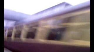 preview picture of video 'I'm 6 and this is the first steam train I've seen going through Sudbury Hill Harrow Station.'