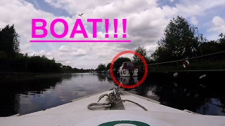 GoPro: NEARLY CRASHED THE BOAT!