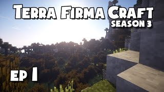 TerraFirmaCraft - S3 #1 - Getting Started