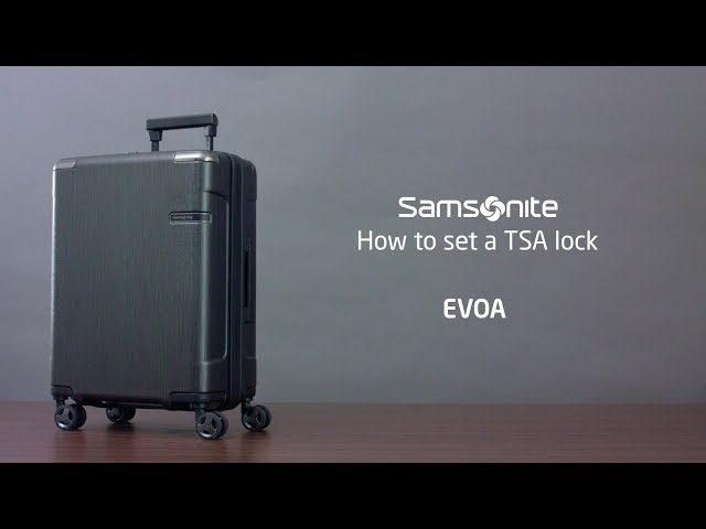 Evoa Spinner Expandable (4 wheels) video 1