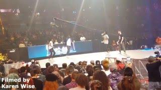 HIP HOP Quarter Final: Waydi & Rochka Vs Pakissi & Ace   Juste Debout 2016 World Final In Paris