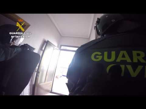 El espectacular tiroteo en una intervención de la Guardia Civil en Argamasilla