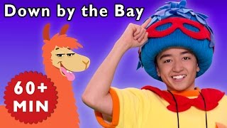 Down by the Bay + More | Jack Meets Funny Animals | Mother Goose Club Phonics Songs