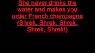 """Video thumbnail of """"Livin la vida loca (Eddie Murphy & Antonio Banderas - Shrek 2) Lyrics"""""""