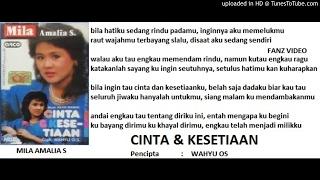 Download lagu Mila Amalia S Cinta Dan Kesetiaan Mp3