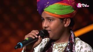 Jasu Khan - Blind Audition - Episode 4 - July 31, 2016 - The Voice India Kids