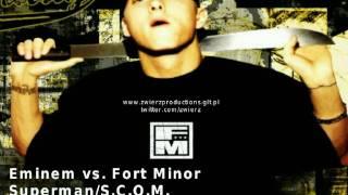 Eminem vs. Fort Minor - Superman/S.C.O.M. (by zwieR.Z.)