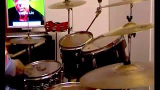ANTONELLO VENDITTI -QUI -( Valle Giulia ) -drumcover