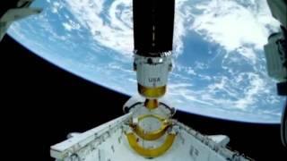Смотреть онлайн Реальная съемка НЛО в космосе произведенная НАСА