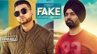 Fake Ft Karan Aujla  Gopi Sandhu