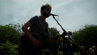 Passenger - When The Lights Hang Low - Busking in Brighton's Pavilion Gardens 29/06/13