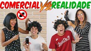 COMERCIAL VS REALIDADE 5! - KIDS FUN