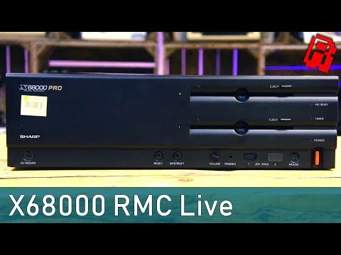 RMC Live | Sharp X68000 Pro - Extended Play Test with Friends
