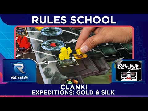Learn How to Play Clank! Expeditions Gold & Silk with the Game Boy Geek