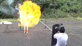 #45【谷阿莫Life】模擬木星點燃,測試看看氫氣爆炸的威力,再也不敢玩氫氣球了