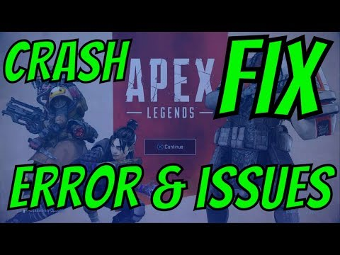 UPDATE HOW TO Fix APEX LEGENDS ERROR Blue Screen Crash In Game * Main Menu PS4 PSN EA Server PROBLEM