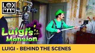 LOKMAN: Luigi's Mansion in Real Life - Behind the scenes