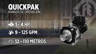 Presión Constante con Multietapas Horizontales: Drive-Tech™ QuickPAK Serie MH