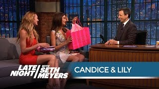 Candice Swanepoel & Lily Aldridge On Nearly Taking Out Ariana Grande With Victorias Secret Costumes