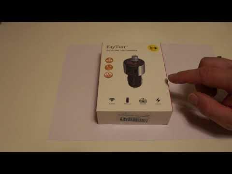 FayTun - KFZ Bluetooth FM Transmitter Praxis- Test + Fazit (Autoradio, Freisprechen, Musik, USB)