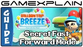 Balloon Trip Breeze's Secret Fast-Forward Mode (Nintendo Land)