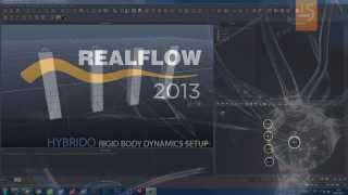 09- RealFlow 2013 : Displacement and Meshes