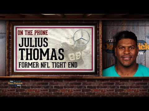 Former NFL TE Julius Thomas Talks Retirement, CTE Research w/Dan Patrick | Full Interview | 8/27/18