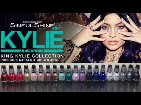 SinfulColors King Kylie Collection Review + Swatches | The Polished Pursuit