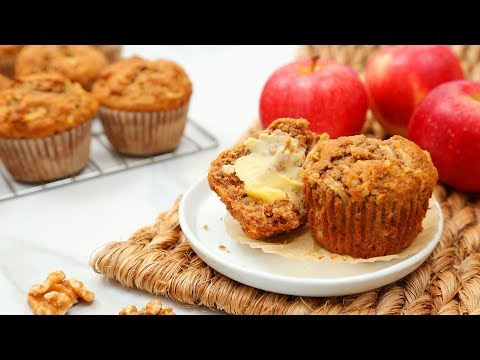 3 EASY Fall Muffin Recipes | Pumpkin Spice, Apple Walnut, Carrot Cake!