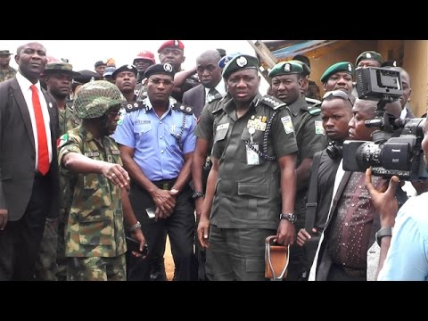 IGP VISITS IKORODU CREEKS TO ASSESS SECURITY SITUATION