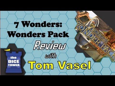 Dice Tower Reviews: 7 Wonders: Wonder Pack