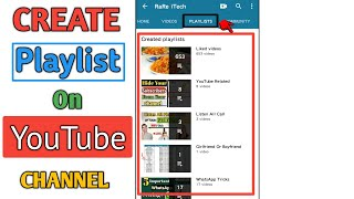 How to Create Playlist On YouTube Channel in 2020