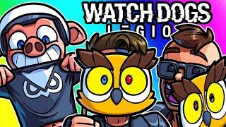 Watch Dogs Legion Funny Moments - Vanoss Fan Club, Roll Out!