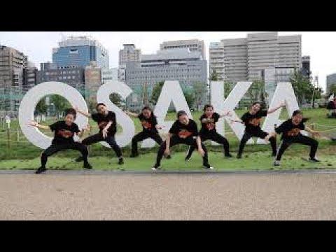 大阪府立今宮高等学校 HIPHOP男女混成部門 演技映像