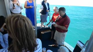 preview picture of video 'Marie Foster Memorial Service Sep 2012 in Somerset Bay, Bermuda'