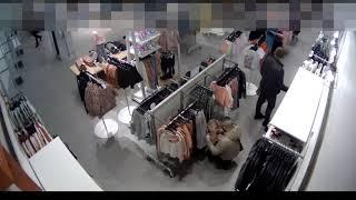 Film do artykułu: Zuchwała kradzież odzieży...