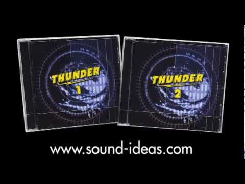 Thunder Series Sound Effects Library - SoundIdeasCanada