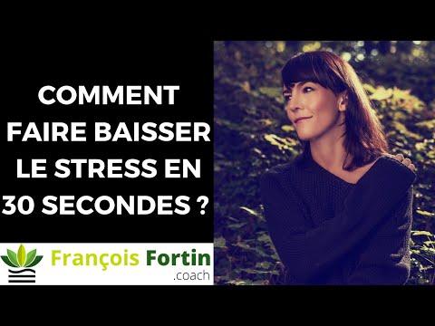 Comment faire baisser le stress en 30 secondes ?