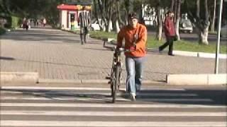 Смотреть онлайн Правила безопасности велосипедистов на дороге